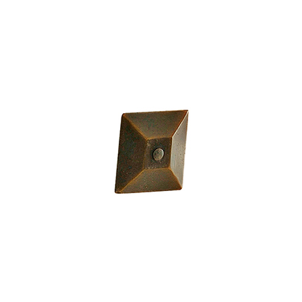 Solid Bronze Pyramid 2 inch Clavo