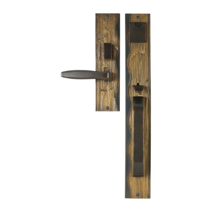 Solid Bronze Amalfi Thumblatch Mortise Entry Set