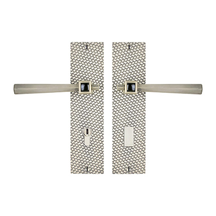 Solid Bronze Amora Royale Lever Multipoint Entry Set