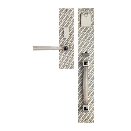 Solid Bronze Amora Royale Thumblatch Mortise Entry Set