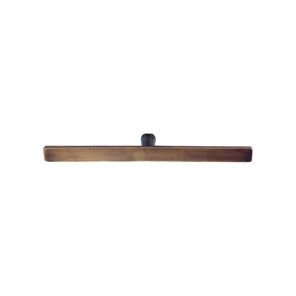 Solid Bronze 8 inch Cabinet Pull-Khaki Patina