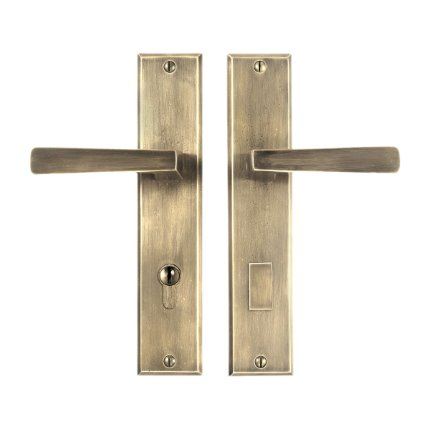 Solid Bronze Manhattan Lever Multipoint Entry Set