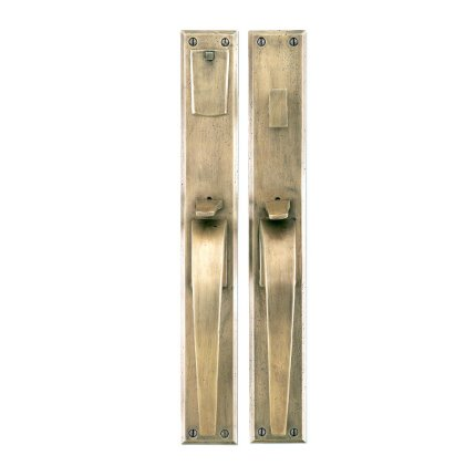 Solid Bronze Manhattan Thumblatch Mortise Entry Set
