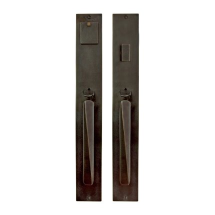 Solid Bronze Milan Thumblatch Mortise Entry Set