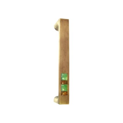 Solid Bronze Scottsdale Royale 8 inch Door and Appliance Pull in Khaki