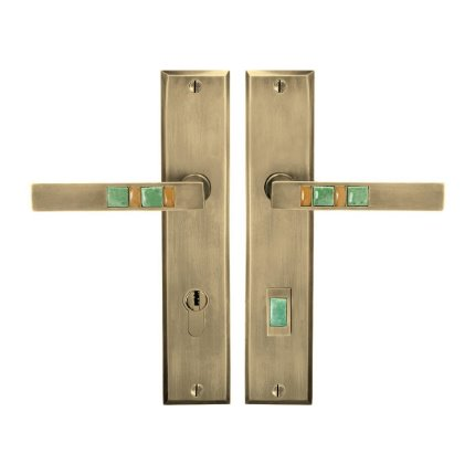 Solid Bronze Scottsdale Royale Lever Multipoint Entry Set
