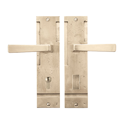 Solid Bronze Tribeca Lever Multipoint Entry Set