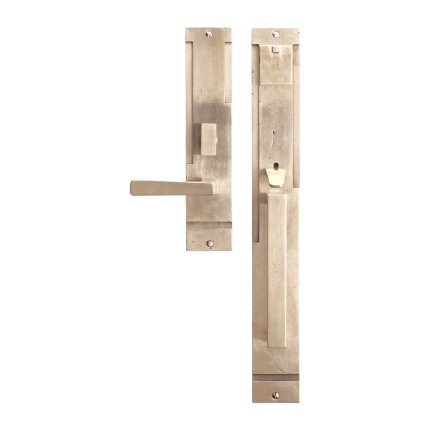 Solid Bronze Tribeca Thumblatch-Lever Mortise Entry Set