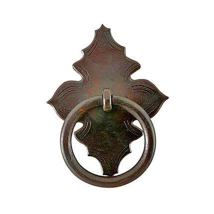 Hand Forged Iron Catalonia Ring Pull