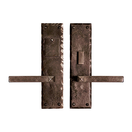 Hand Forged Iron Cody Lever Mortise Entry Set