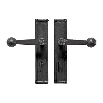Hand Forged Iron Sierra Lever Multipoint Entry Set