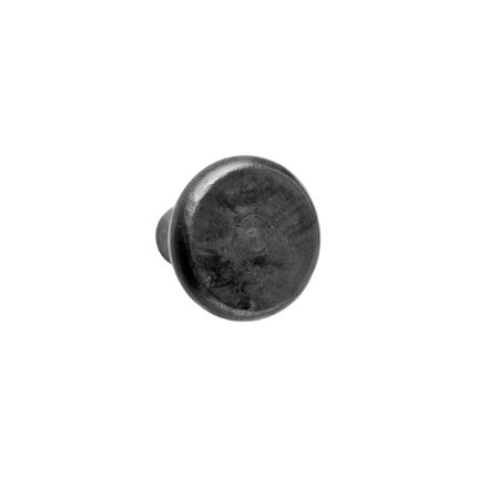 Hand Forged Iron Martini 1.25 inch Cabinet Knob