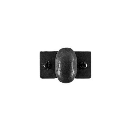 Hand Forged Iron Melon 1.25 inch Cabinet Knob